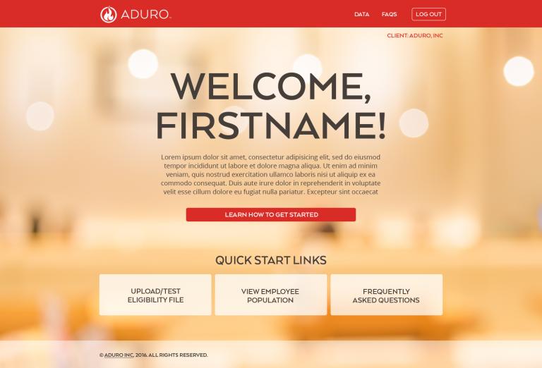 Aduro CC Welcome